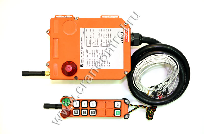 Комплект радиоуправления модель 25-6D