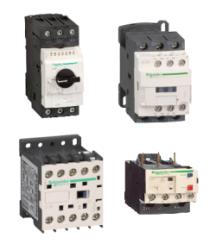Пускорегулирующая аппаратура (контакторы, выключатели, реле)