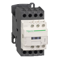 LC1D128B7 – Контактор 4р (2НО+2НЗ), AC-1 25А, доп. НО+НЗ, 24В пер. 50Гц