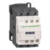 LC1D12B7 – Контактор 3р, 12А, доп. НО+НЗ, 24В пер. 50Гц