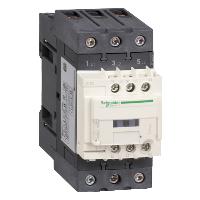 LC1D40AB7 – Контактор 3р, 440В 40А, доп. НО+НЗ, 24В пер. 50Гц