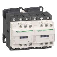 LC2D09D7 – Контактор рев. 3р, 9А, НО+НЗ, 42В пер. 50Гц