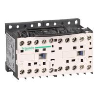 LC2K0601B7 – Контактор рев. 3р, AC-3 – <= 440В 6А, доп. НЗ, 24В пер. 50Гц
